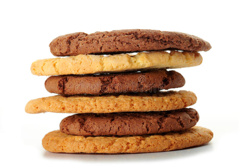 Download Oat Cookies And Chocolate Cookies Stock Image - Image: 27527091