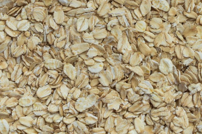 Oat flackes as background stock photography