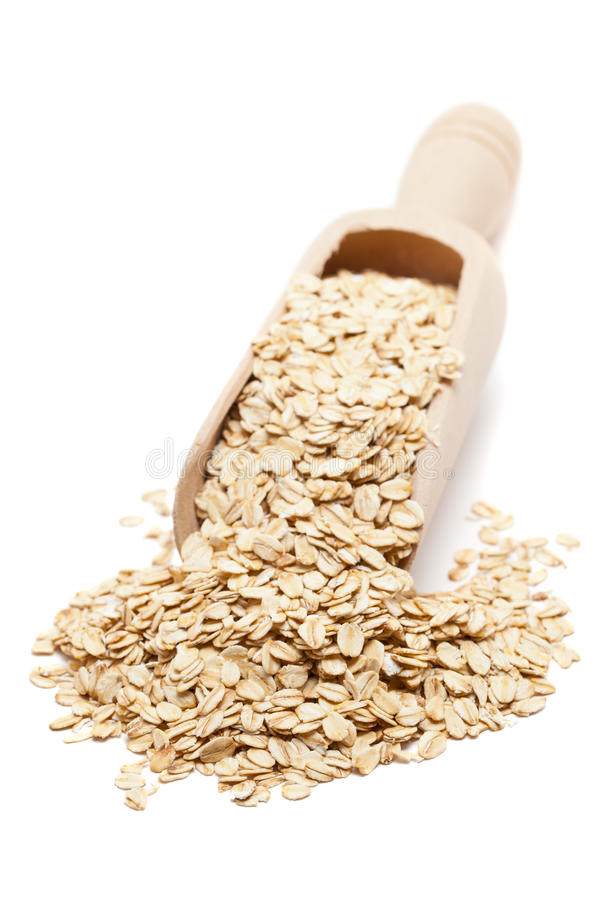 Download Oat flakes stock photo. Image of vertical, grains, oatmeal - 21079942