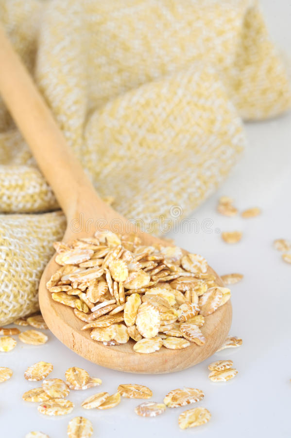 Download Oat-flakes stock photo. Image of healthy, close, breakfast - 23608062