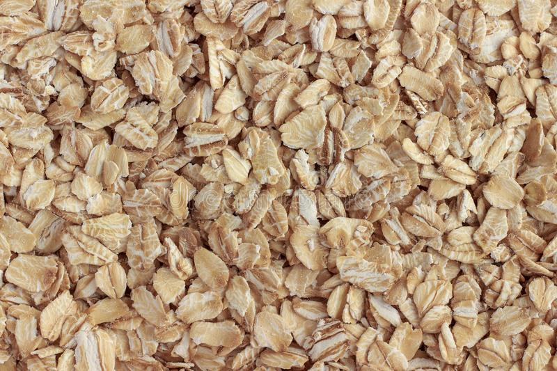 Oatmeal, healthy food. Background or texture. royalty free stock photo