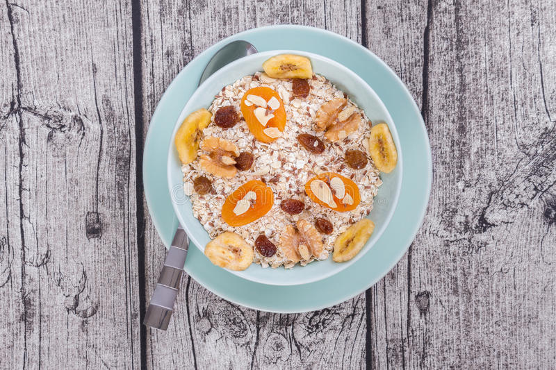 Download Oat Meal stock image. Image of meal, fruits, apricot - 43386951