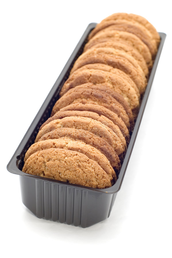 Oat pastry close up stock photo