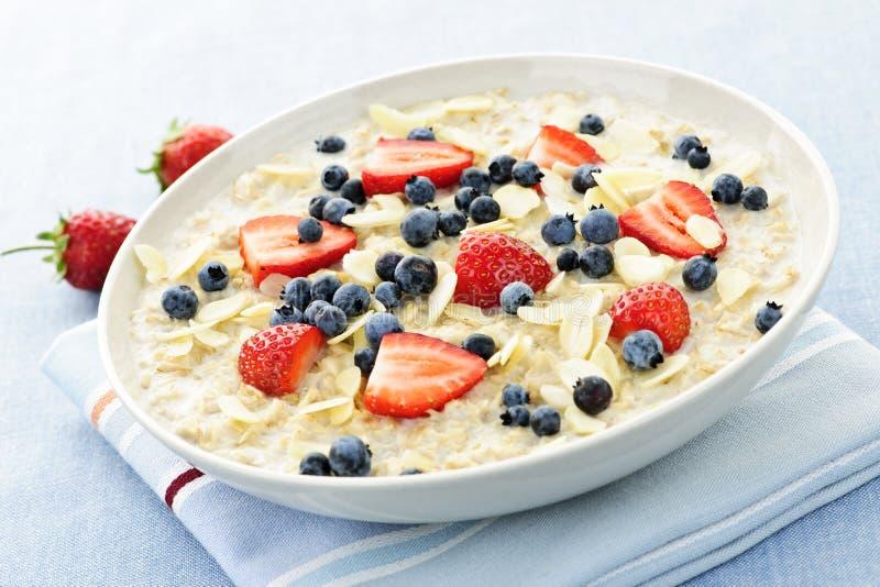 oatmeal δημητριακών προγευμάτων  στοκ εικόνες