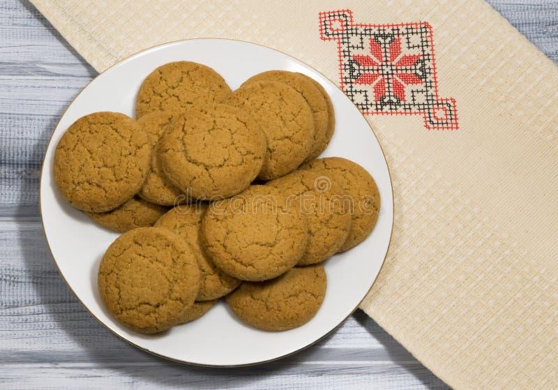 oatmeal ζωής μπισκότων ακόμα στοκ εικόνα