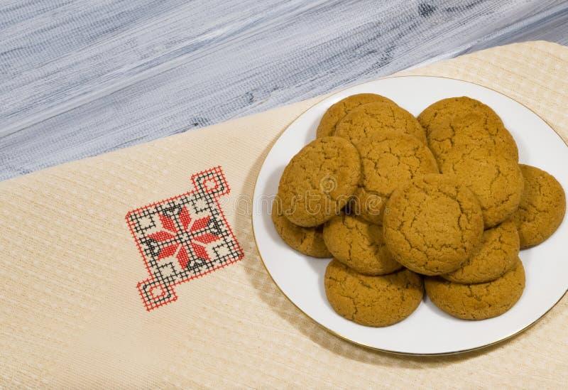 oatmeal ζωής μπισκότων ακόμα στοκ εικόνες με δικαίωμα ελεύθερης χρήσης