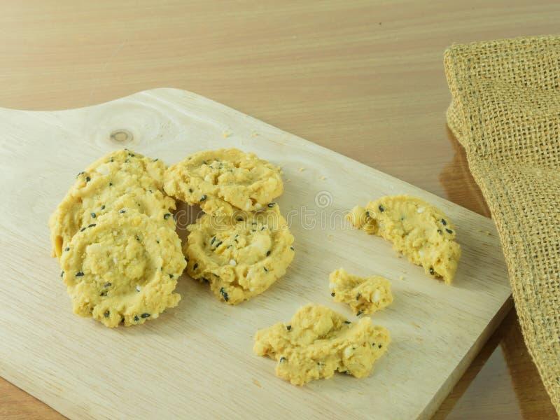 Oatmeal μπισκότα Θερμίδες, μπισκότο στοκ εικόνα
