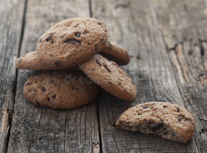 Oatmeal μπισκότα με τις σταφίδες στοκ φωτογραφία
