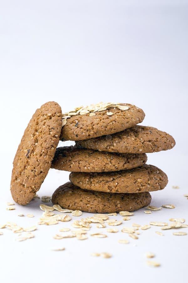 Oatmeal μπισκότα στοκ εικόνα με δικαίωμα ελεύθερης χρήσης