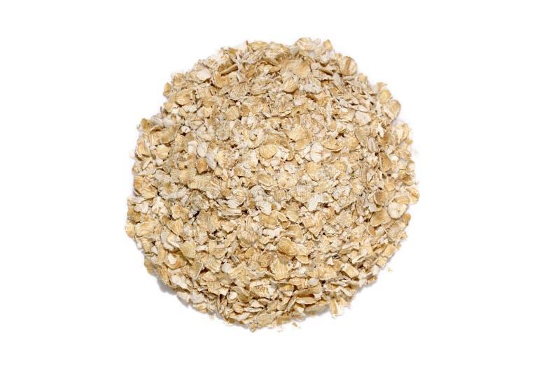 Oatmeal круглой формы стоковое фото