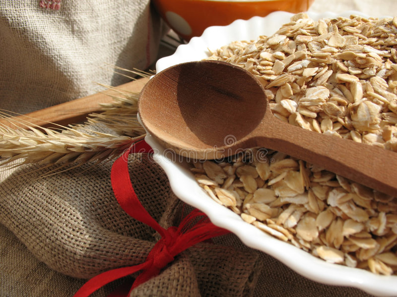 oatmeal arkivfoto