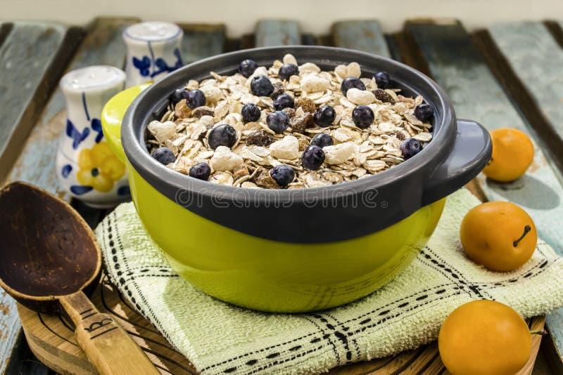 oatmeal fotografie stock libere da diritti