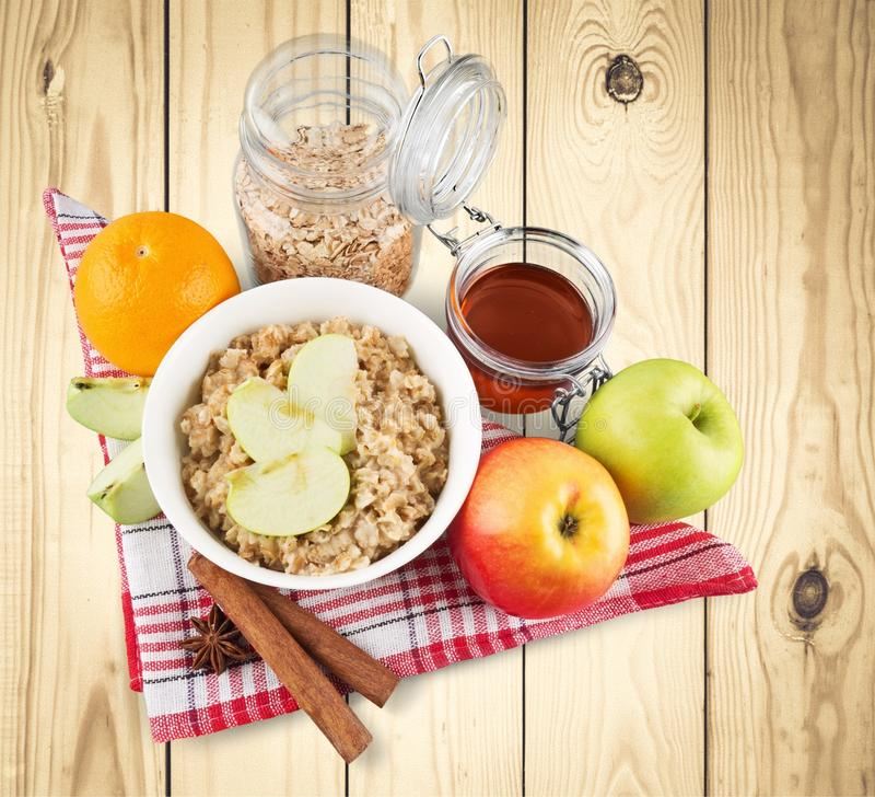 oatmeal immagini stock libere da diritti