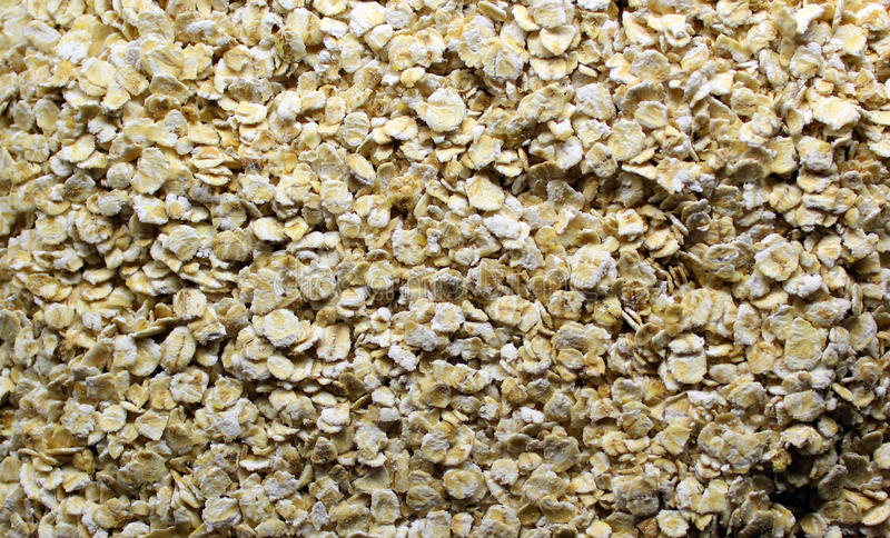 oatmeal fotografia stock libera da diritti