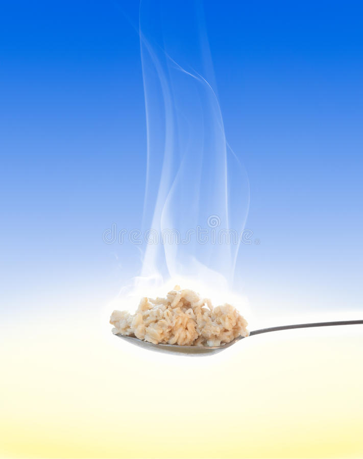 Oatmeal For Breakfast Royalty Free Stock Photo