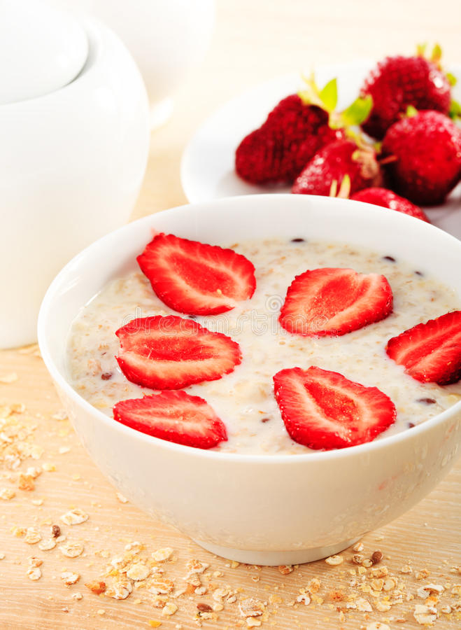 Download Oatmeal porridge stock photo. Image of muesli, granola - 19822860