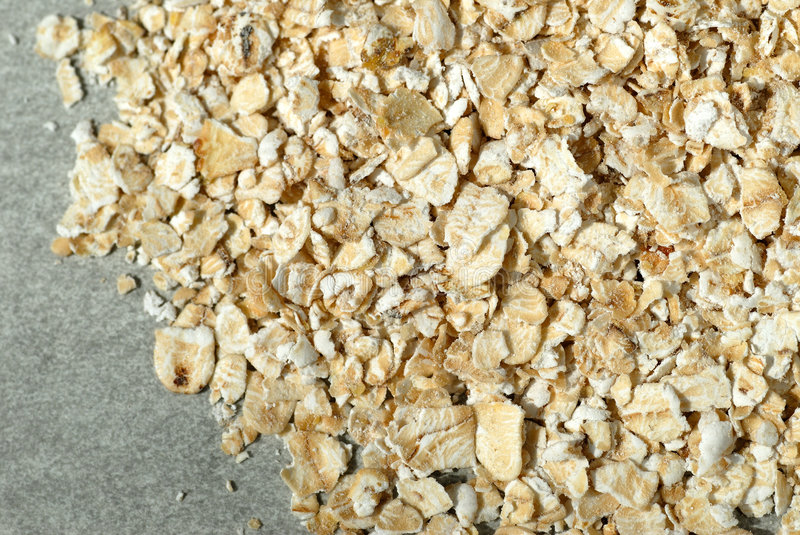 Oats flakes royalty free stock images
