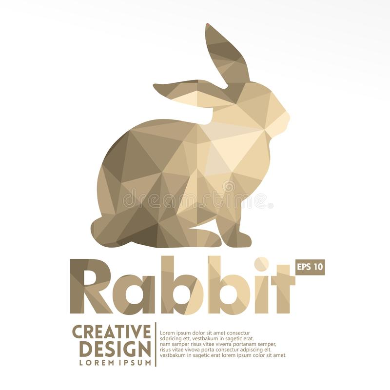 Oavbrutet tjata geometrisk stil för det pappers- hantverket vektor illustrationer