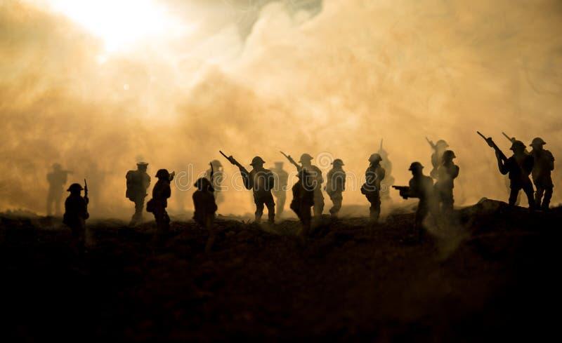 Abstrakt Begrepp För Krig Som Och För Fred Isoleras
