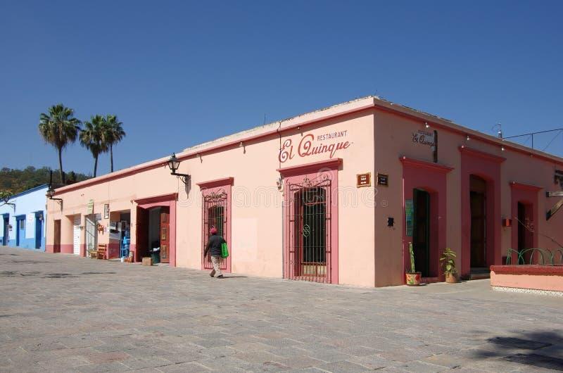 Oaxaca gata arkivbild