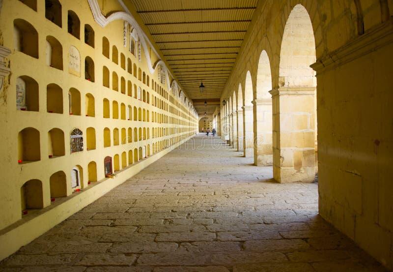 Oaxaca, México 1º de novembro de 2016: Criptas de Oaxaca imagem de stock royalty free