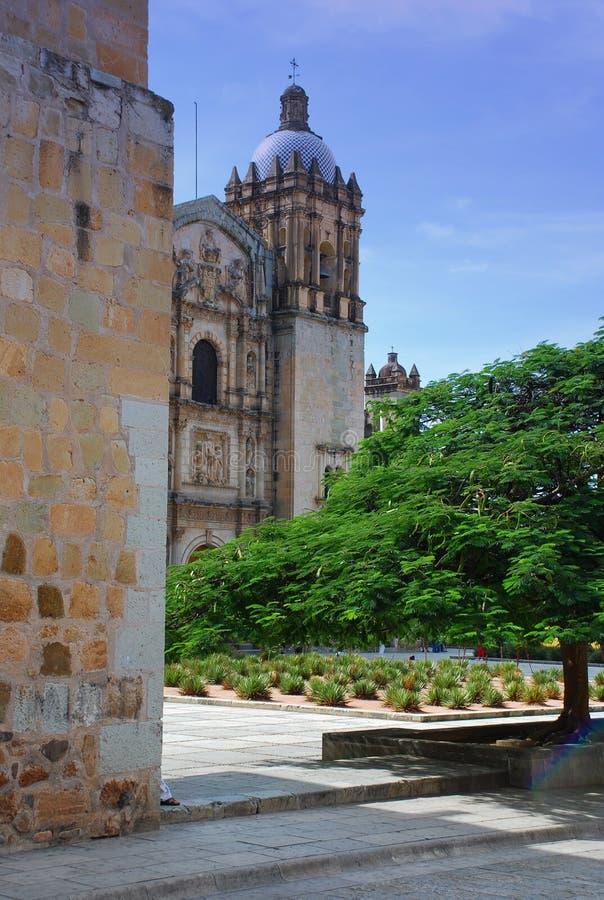 Oaxaca, México. Quadrado principal imagens de stock royalty free