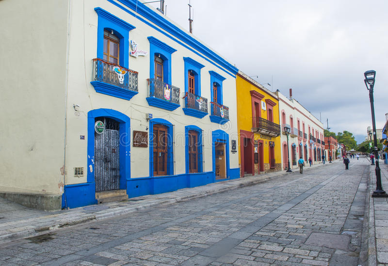 Oaxaca , Mexico. NOV 02 : Street view in Oaxaca Mexico on November 02 2015. Oaxaca, is the capital and largest city of the Mexican state of the same name stock photos