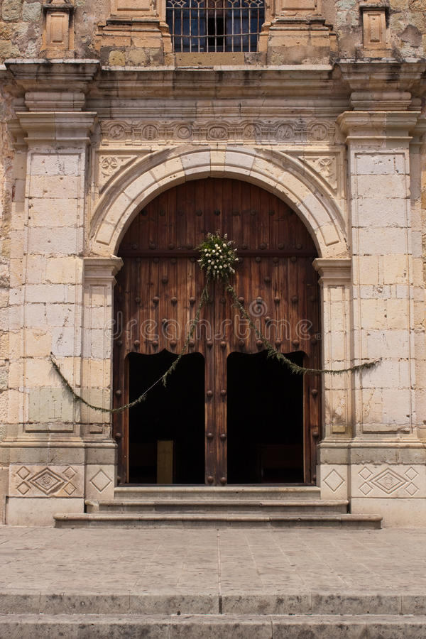 Oaxaca old town. In mexico in hot summer royalty free stock image