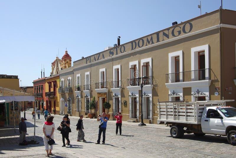 Oaxaca street stock photos