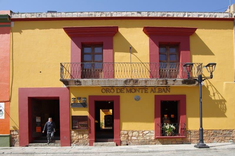 Oaxaca street stock photo