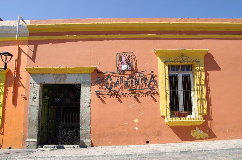 Oaxaca street royalty free stock photography