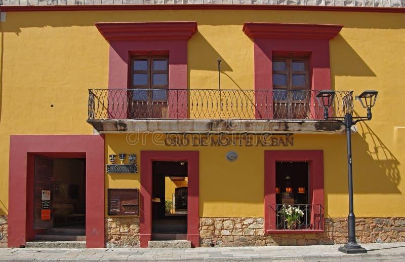 Oaxacastraat royalty-vrije stock afbeelding