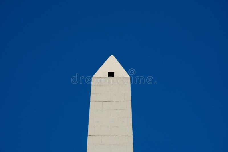 Obélisque d'EL Obelisco de Buenos Aires un monument historique national situé à la place de République photos stock