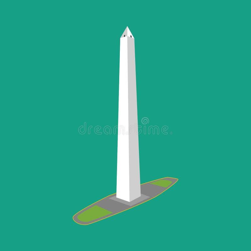Obélisque de Buenos Aires Argentine illustration libre de droits