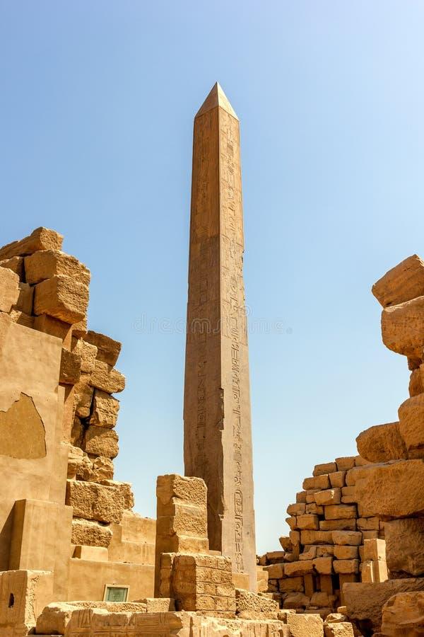 Obélisque de Hatshepsut photographie stock