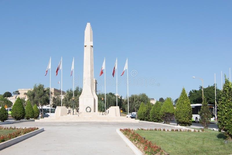 Obélisque de mémorial de guerre photos stock