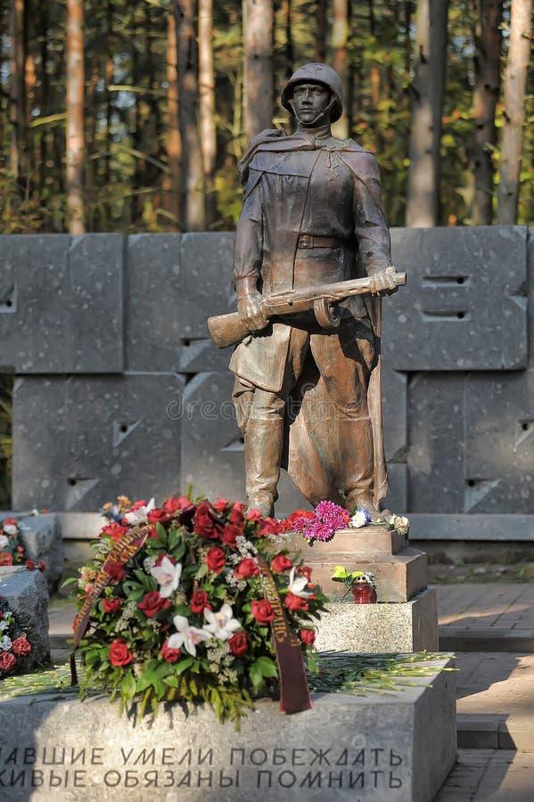 Obélisque de mémorial de la deuxième guerre mondiale image libre de droits