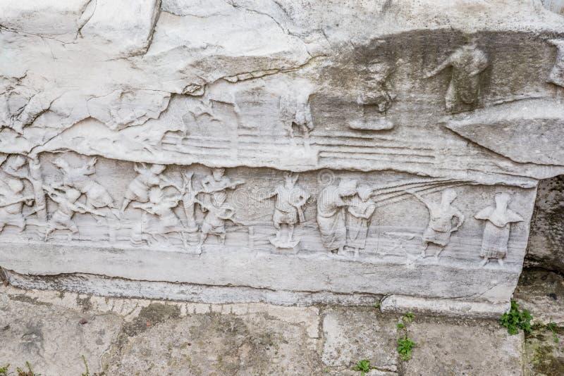 Obélisque de Theodosius ou obélisque égyptien à Istanbul photographie stock libre de droits