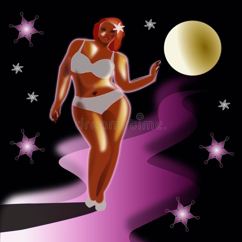 Download Obésité, de poids excessif illustration stock. Illustration du obésité - 77153000