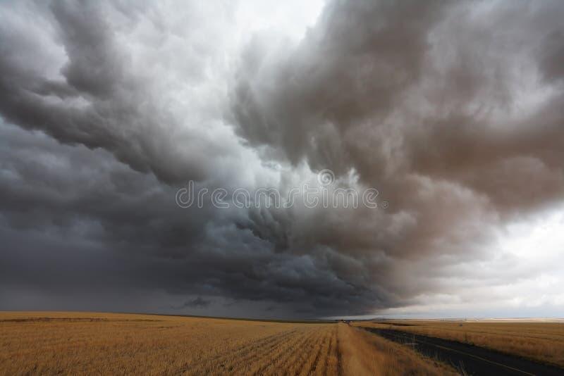 obłoczna burza zdjęcia royalty free