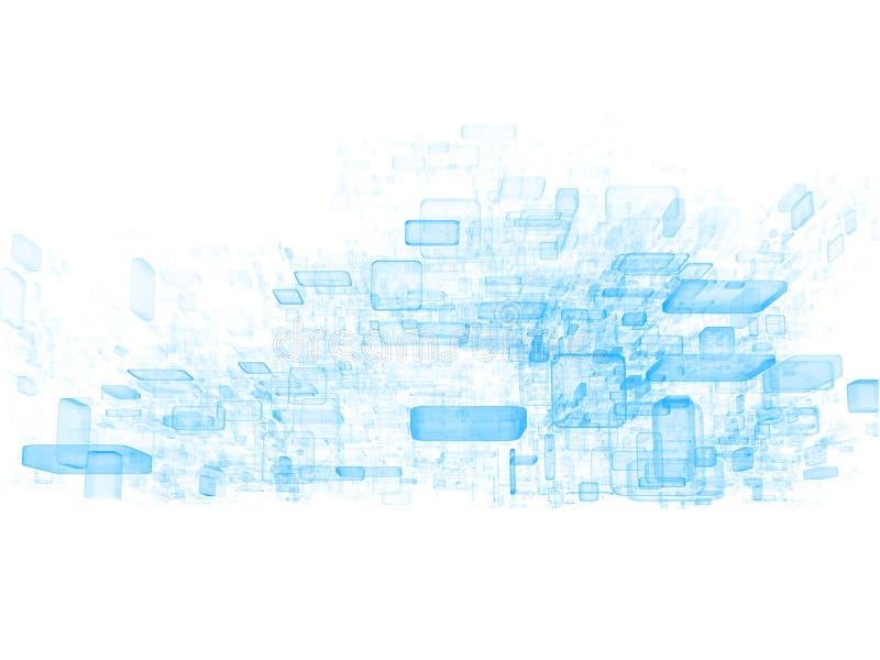 obłoczni dane ilustracja wektor