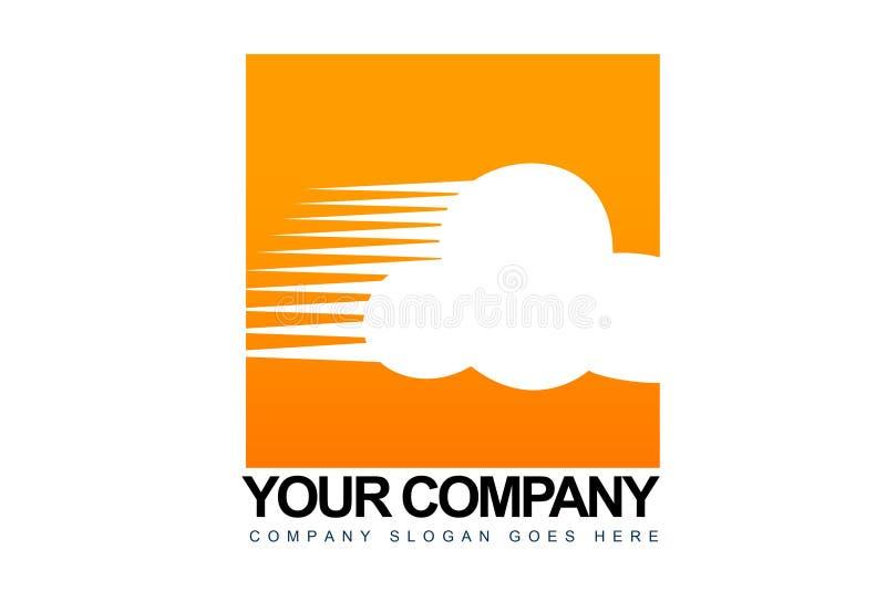 Obłoczny biznesu Logo royalty ilustracja
