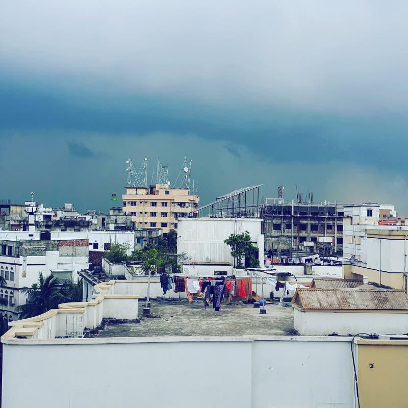 Obłoczny deszcz fotografia stock