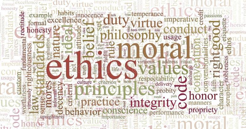 obłoczny etyk zasad słowo ilustracji