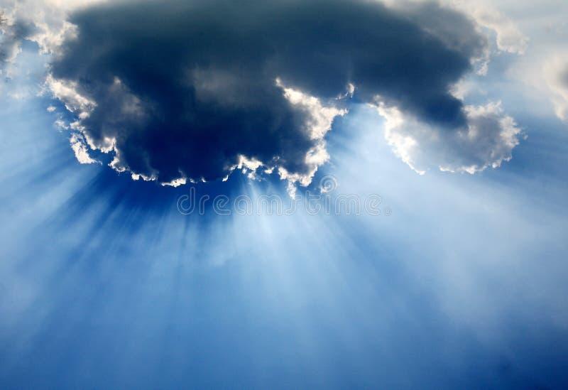 obłoczny niebo obraz stock