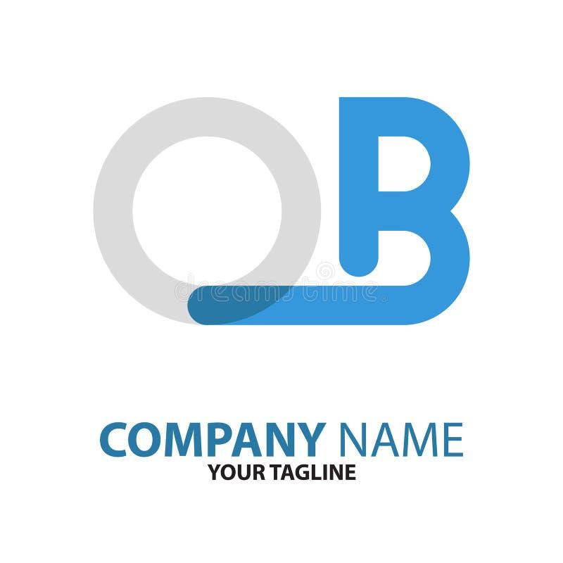 Download OB Aanvankelijk Het Embleemconcept Van BO Vector Illustratie - Illustratie bestaande uit halsband, element: 114227252