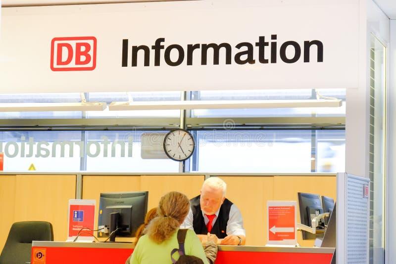 OB-Informatie stock foto