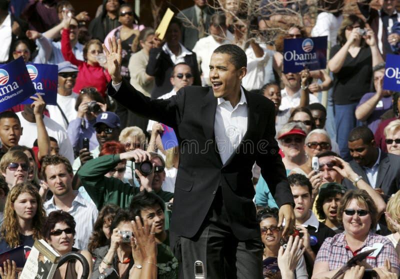 Obama 08 imagens de stock
