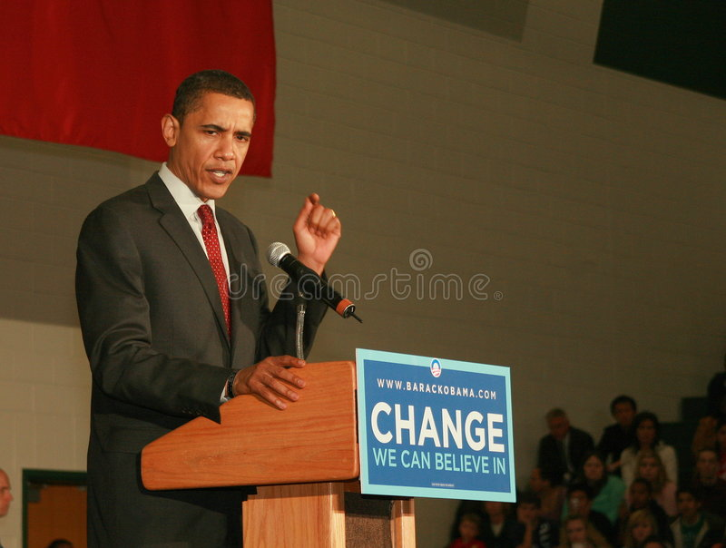 Download Obama 2008 editorial image. Image of texas, campagn, speaks - 4863900