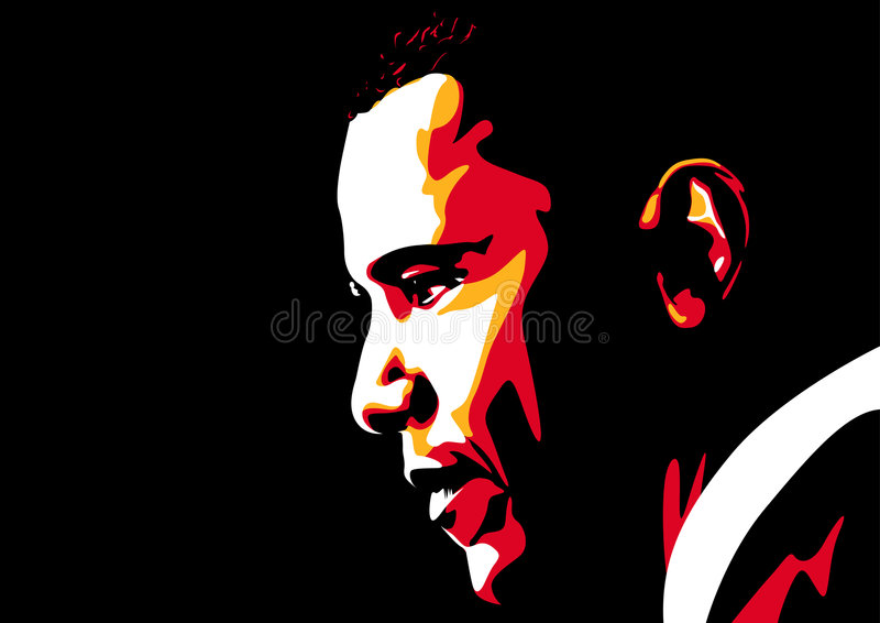 Obama illustrazione di stock